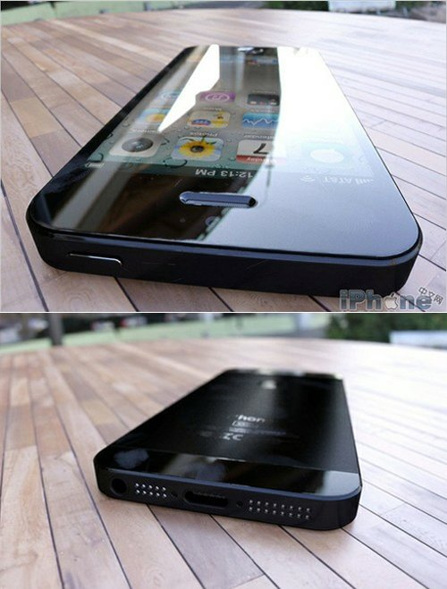 iPhone5のリーク画像