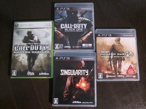 『Call of Duty』シリーズと『シンギュラリティ』