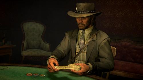 ゲーム内でポーカー