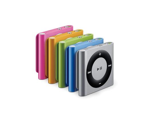 iPod shuffle ラインナップ