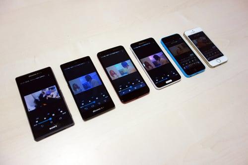 Androidスマホのバッテリー持ちはどれぐらい進化した? ドコモ冬春モデル最新機種で一斉検証