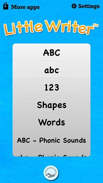 はねプリ第70回「英語のやつだとお勉強になってママもちょっと嬉しいよね」 - 『Little Writer - The Tracing App for Kids』