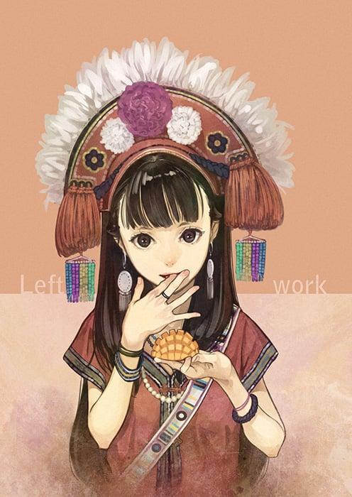 世界中が注目!美少女<b>イラスト</b>で有名な横浜出身<b>イラストレーター</b>「<b>左</b> <b>...</b>