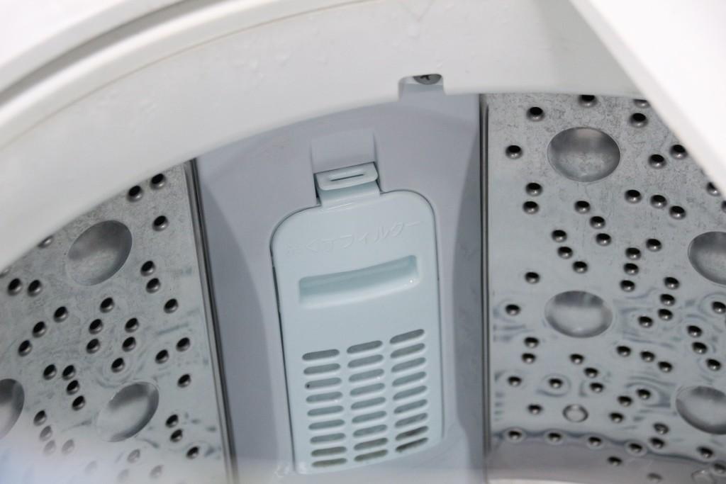 中に洗濯板が内蔵