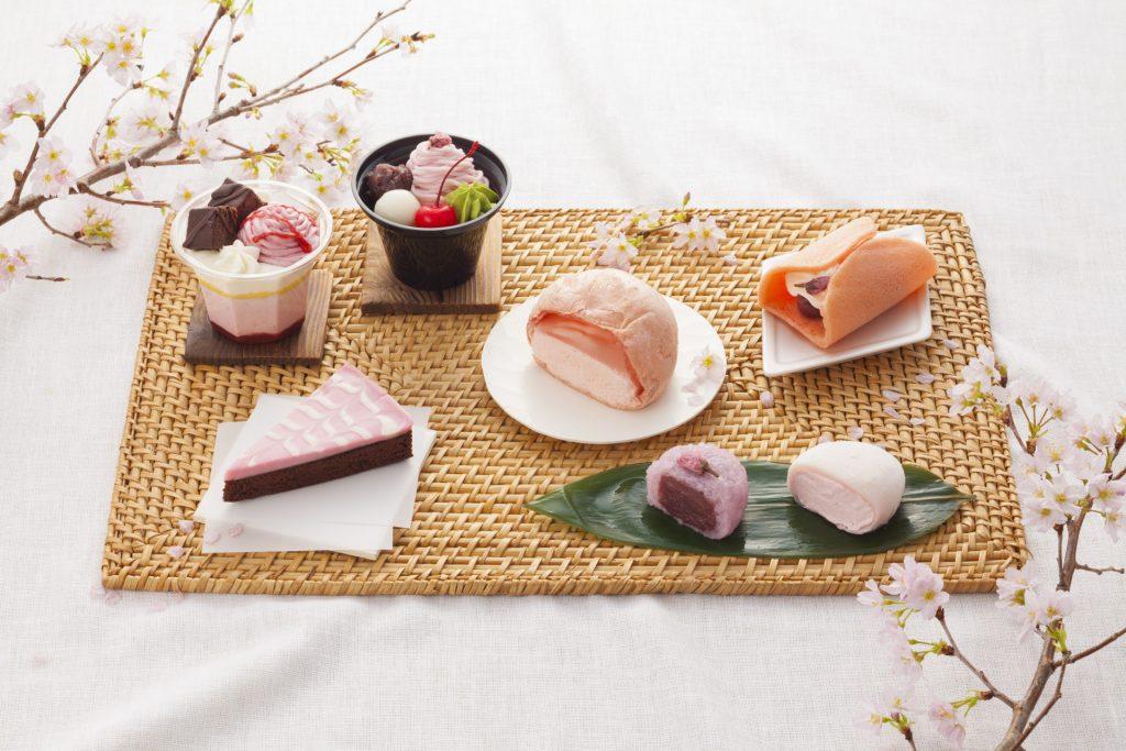 見た目にも華やか! セブン-イレブンで桜やいちごを使用した『春スイーツフェア』開催!!