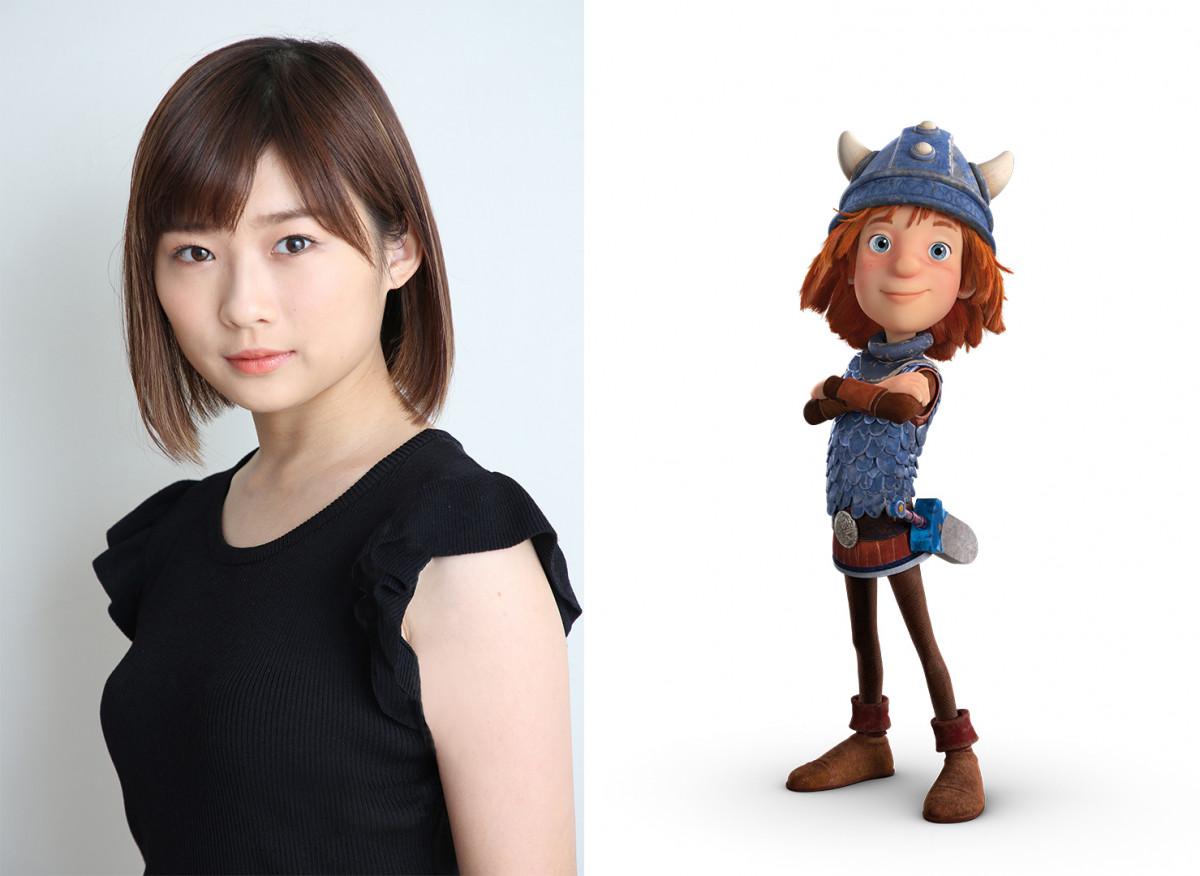 「ONE PIECE」のモチーフになった名作アニメ『小さなバイキング ビッケ』がCGアニメーションで映画化! 伊藤沙莉さんがビッケ演じる