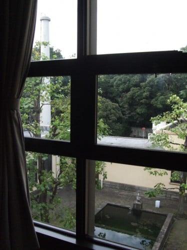 東京都庭園美術館中庭