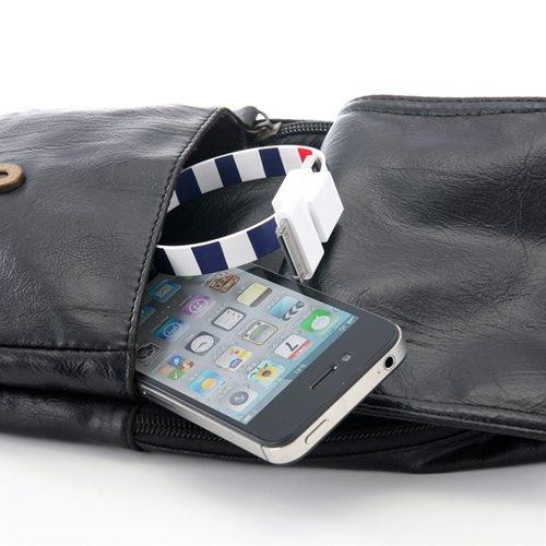 リングUSBケーブル(iPhone・スマートフォン対応・MicroUSB・Dock)500-USB023シリーズ