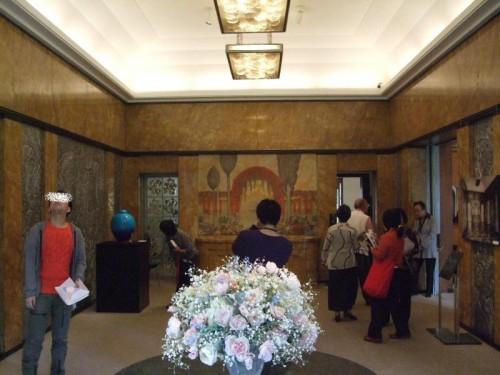 壁がすごい!東京都庭園美術館
