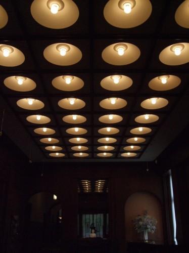 東京都庭園美術館照明