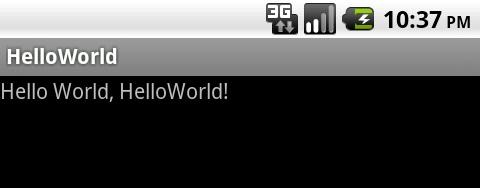 Hello Worldが表示されました