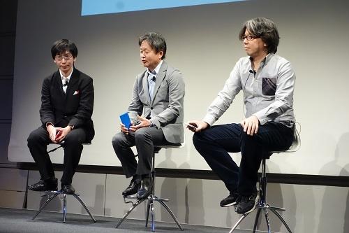 左から砂原氏、深澤氏、中村氏