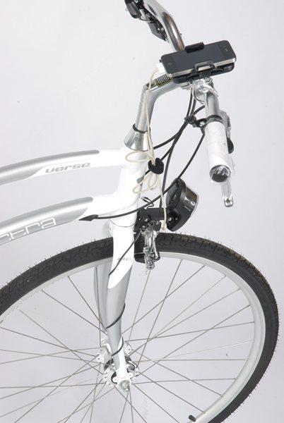 自転車の 発電 自転車 ライト : ダイナモ発電でスマホを充電 ...