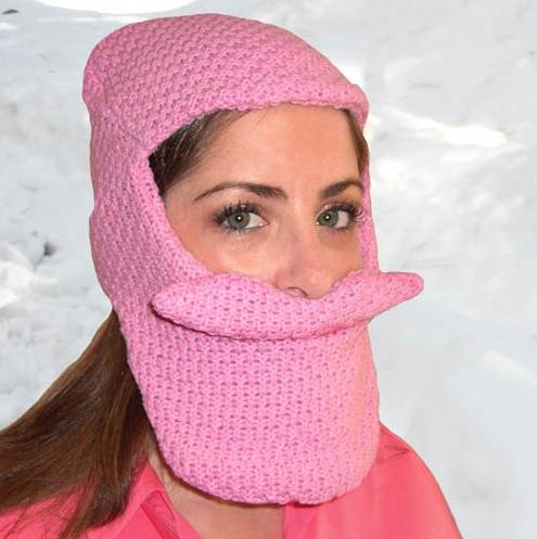 BeardHead ニットキャップ ピンク