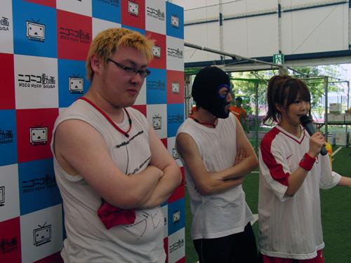 左から石川典行さん、横山緑さん、レポーターのゆかちーさん