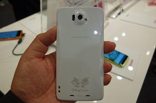 Disney Mobile on docomo N-03E