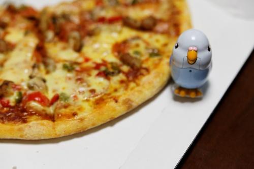 ピザとピーちゃん
