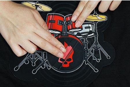 �ɥ�७�åȥ���� ��Electronic Drum Kit Shirt��