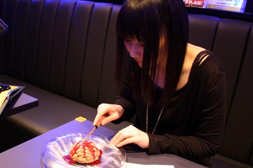 バイオハザード ブレイン(脳みそ)ケーキ