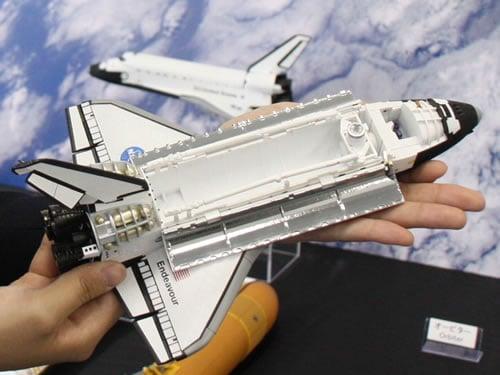 バンダイが12月3日に発売する『大人の超合金 スペースシャトル オービター号』