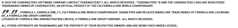 F1-許諾表記