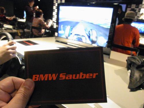 チームは『BMW Sauber』