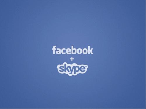 Facebook&Skype 新機能発表