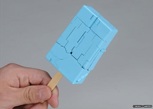 『ガリガリ君』と同サイズのアイスキャンディー形態