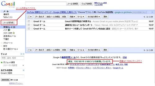 Gmail ��������Ȥ��äƤߤ褦�����ܥå�������