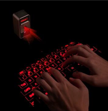 編集長的チェック!「近未来型キーボード『マジックキューブ』 」#gadget