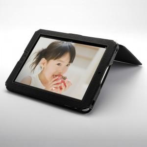 iPad レザーケース 200-IN022