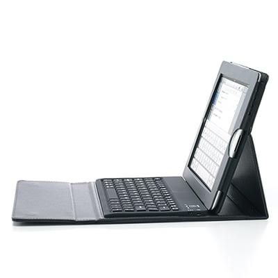 Bluetoothキーボード内蔵 iPad 2ケース 400-SKB019