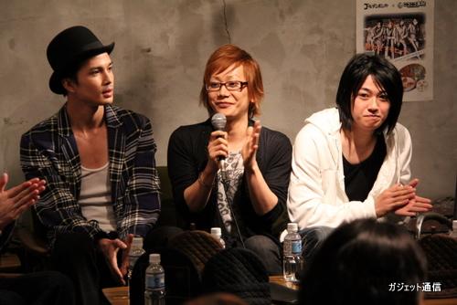 右から大河さん、Kimeruさん、広瀬さん