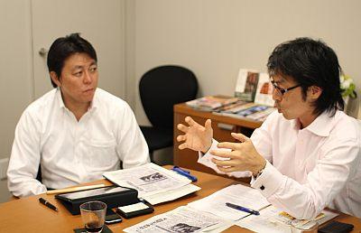 井上氏と松田氏