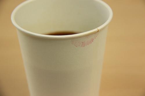 コーヒーのコップ
