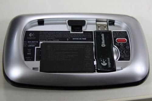 付属USBミニレシーバーも収納できます
