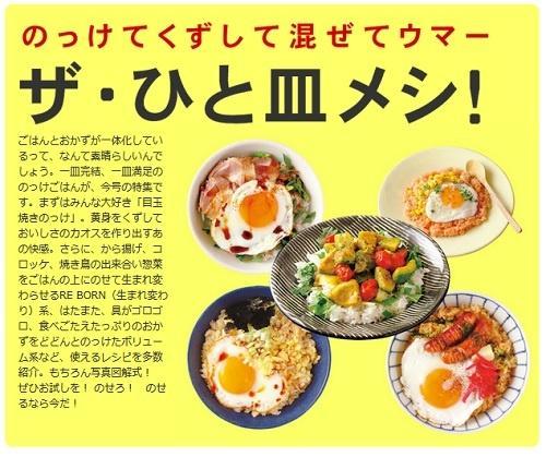 ご飯の上+おかず+目玉焼き=至福! 夏の時短調理にもお役立ちな「ザ・ひと皿メシ!」特集 | ガジェット通信 GetNews