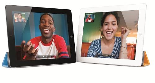 『iPad 2』FaceTime