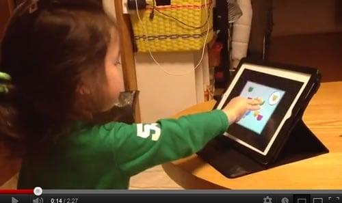 2歳の姪がiPadを使いこなし過ぎな件(アプリ編)