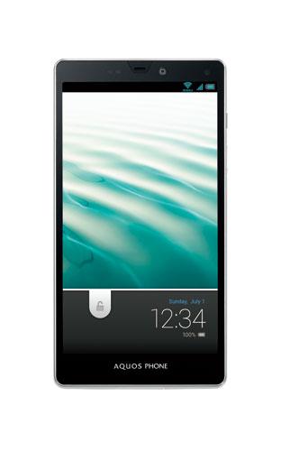 『AQUOS PHONE SERIE ISW16SH』ディスプレー面