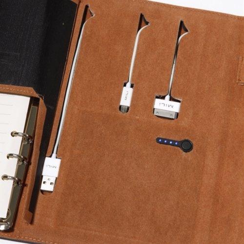 『MiLi Power Notebook』ケーブル収納状態