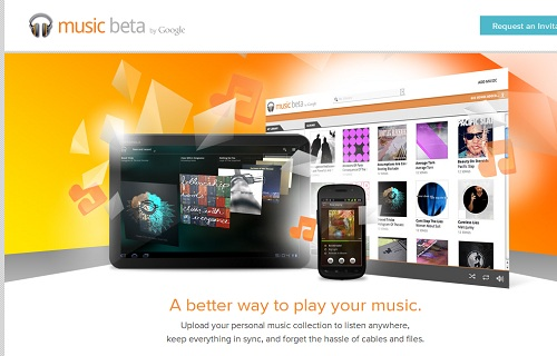Music Beta by Google�������֥����Ȥ��