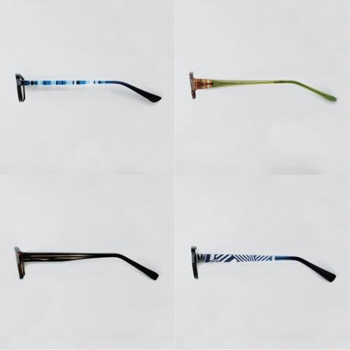 エレコム『ブルーライトカットメガネ』側面