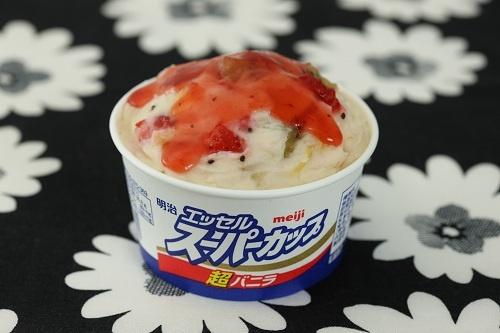 レシピ例:フルーツポンチアイス