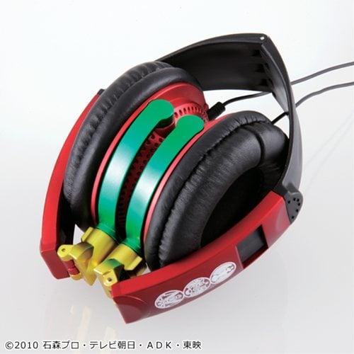 バンダイ『仮面ライダーオーズ ステレオヘッドフォン』