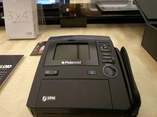 RESTIRデジタルバー『Polaroidインスタントデジタルカメラ』