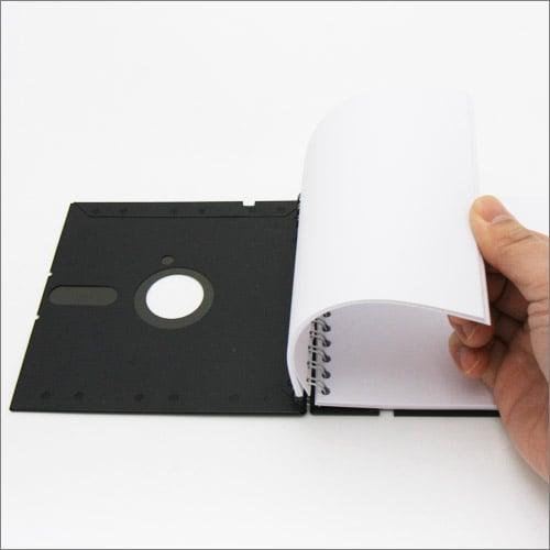 『5.25インチ レトロディスクノートブック』