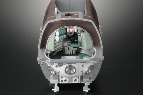 『1/48 有人潜水調査船しんかい 6500』コックピット内部