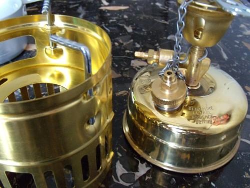 ガソリンストーブの定番OPTIMUS 123R SVEA(スベア)