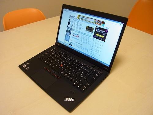 Windows 8も選べるようになったUltrabook 『ThinkPad X1 Carbon』製品レビュー